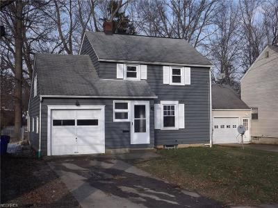 Ravenna Single Family Home For Sale: 1020 West Spruce Ave