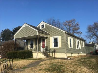 Muskingum County Single Family Home For Sale: 821 Echo Ave