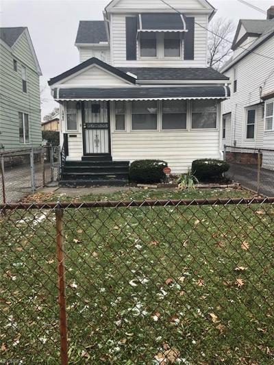 Cleveland Single Family Home For Sale: 1462 East 123rd St