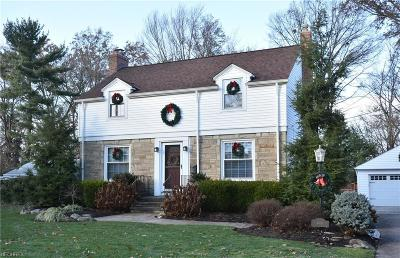 North Olmsted Single Family Home For Sale: 23426 Alexander Rd