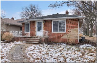 Cleveland OH Single Family Home For Sale: $190,000