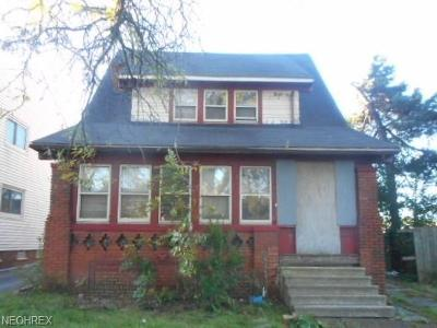 Cleveland Single Family Home For Sale: 14806 Harvard Ave