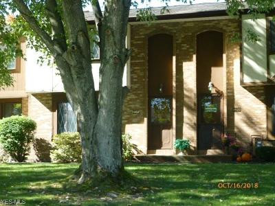 Youngstown Condo/Townhouse For Sale: 1402 Maplecrest Dr