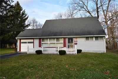 Youngstown Single Family Home For Sale: 2604 Windsor Ave