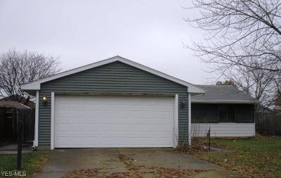 Lorain OH Single Family Home For Sale: $61,300
