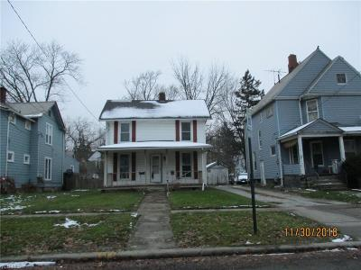 Elyria OH Multi Family Home For Sale: $34,500