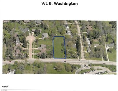 Medina Residential Lots & Land For Sale: East Washington St