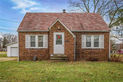 Single Family Home For Sale: 745 Homeworth Road