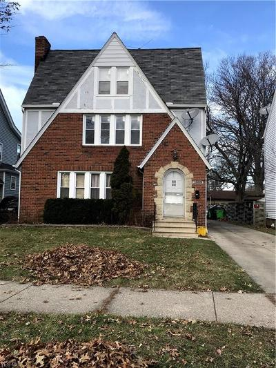 Euclid Multi Family Home For Sale: 21051 South Lake Shore Blvd