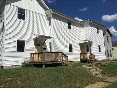 Zanesville Multi Family Home For Sale: 1331-1333 Clover