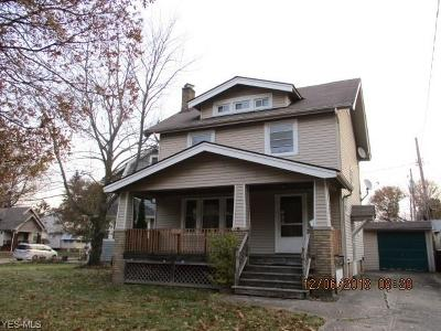 Cleveland OH Single Family Home For Sale: $71,300