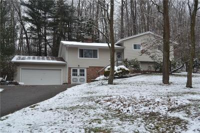 Geauga County Single Family Home For Sale: 14830 Watt Rd