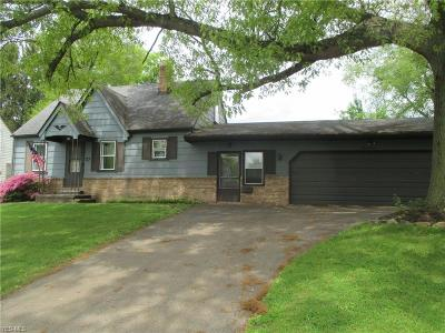 Struthers Single Family Home For Sale: 37 Wetmore Dr