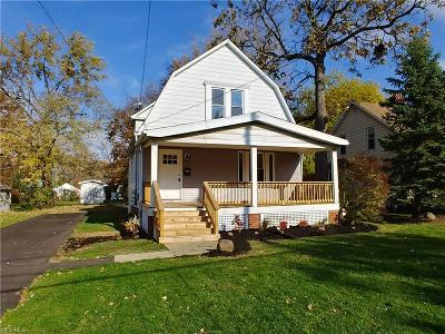 Wickliffe Single Family Home For Sale: 1829 East 290th St