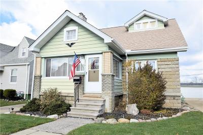 Parma Single Family Home For Sale: 6814 Ridgewood Ave