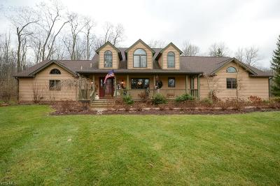 Solon Single Family Home For Sale: 36824 Aurora Rd