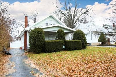 Youngstown Single Family Home For Sale: 228 Hollywood Ave