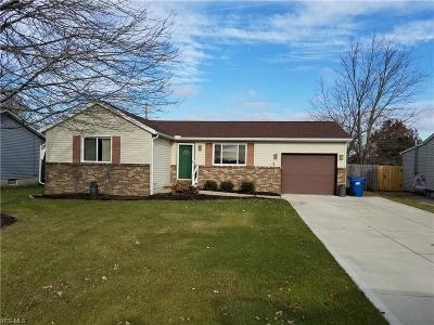 Wellington OH Single Family Home For Sale: $135,000