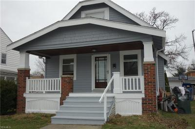 Parma Single Family Home For Sale: 7614 Chesterfield Ave