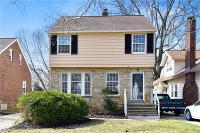 Euclid Single Family Home For Sale: 114 East 213th St