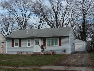 Elyria Single Family Home For Sale: 323 Brandtson Ave