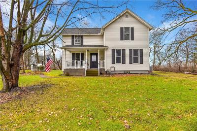 Wadsworth Single Family Home For Sale: 2754 South Medina Line Rd