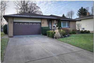 Mayfield Heights Single Family Home For Sale: 6572 Vallevista Dr