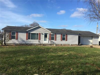 Frazeysburg OH Single Family Home Active Under Contract: $84,900