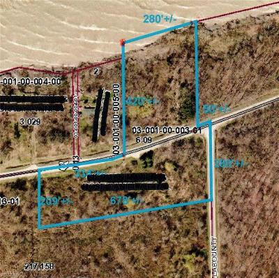 Ashtabula County Residential Lots & Land For Sale: Vl Lake And Labounty Rd