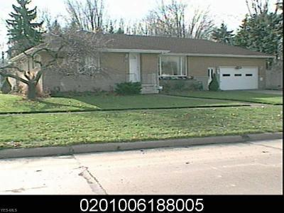 Lorain Single Family Home For Sale: 745 Meister Rd