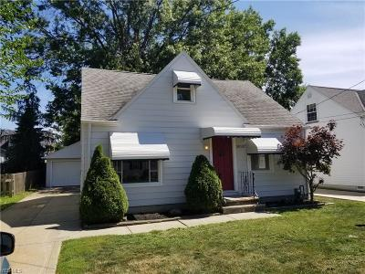 Wickliffe Single Family Home For Sale: 30132 Phillips Ave