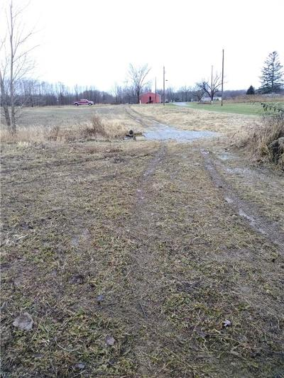 Lorain County Residential Lots & Land For Sale: 39700 State Route 18