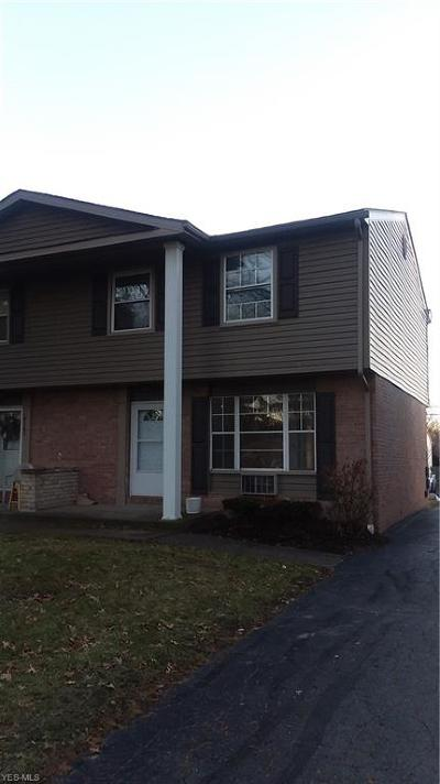 Austintown Condo/Townhouse For Sale: 4165 New Rd