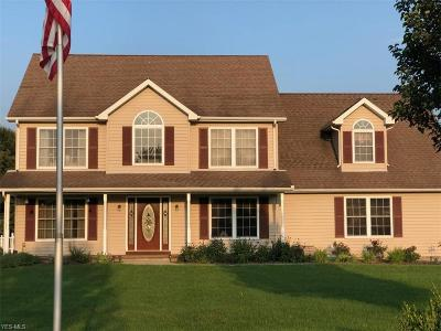 Geauga County Single Family Home For Sale: 7175 Dewey Rd