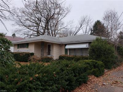 Painesville Single Family Home For Sale: 1672 West Jackson St