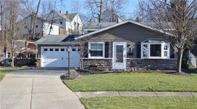 Elyria Single Family Home For Sale: 172 Pinewood Dr