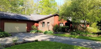 Chagrin Falls Single Family Home For Sale: 18876 Rivers Edge Dr West