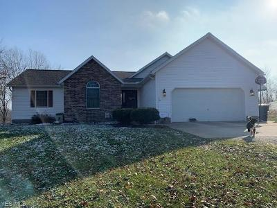 Guernsey County Single Family Home For Sale: 66385 Read Rd