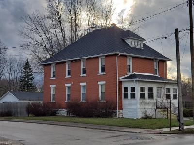 Ashtabula OH Single Family Home For Sale: $79,500