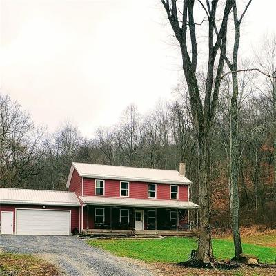 Frazeysburg Single Family Home For Sale: 16875 Township Road 388