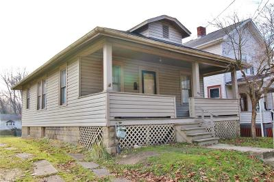Zanesville Single Family Home For Sale: 936 Pershing Rd