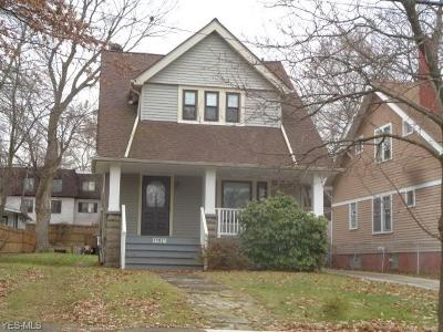 Cleveland OH Single Family Home For Sale: $58,900