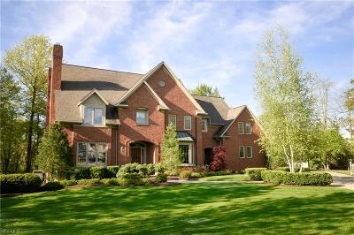 Chagrin Falls Single Family Home For Sale: 50 Quail Ridge Dr