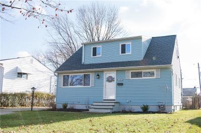 Single Family Home For Sale: 16391 Holland Rd