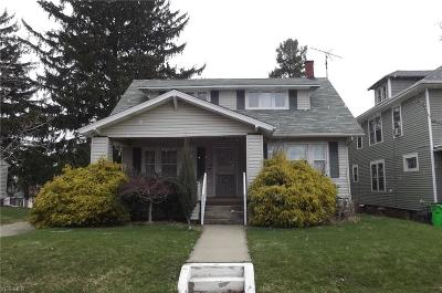Alliance OH Single Family Home Sold: $32,665
