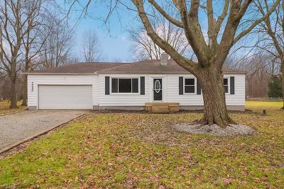 North Ridgeville Single Family Home For Sale: 7599 Maddock Rd