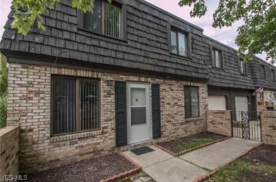 Broadview Heights Condo/Townhouse For Sale: 585 Tollis Pky