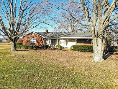 Single Family Home For Sale: 11380 West South Range Rd