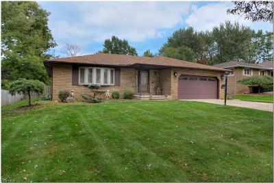 Cleveland Single Family Home For Sale: 7655 Yorktown Ln
