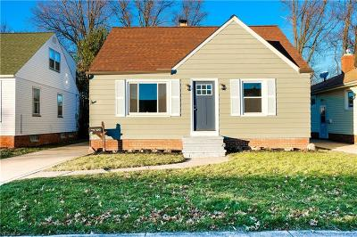 Parma Single Family Home For Sale: 2702 Ingleside Dr